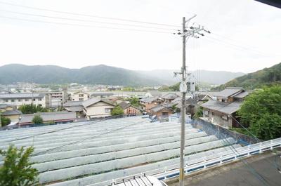 【バルコニー】勧修寺福岡町325-2