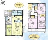 武蔵村山市三ツ藤3丁目 新築戸建 全2棟 1号棟の画像