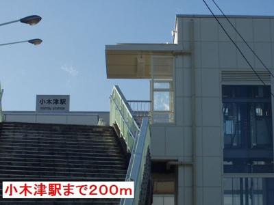 小木津駅まで200m