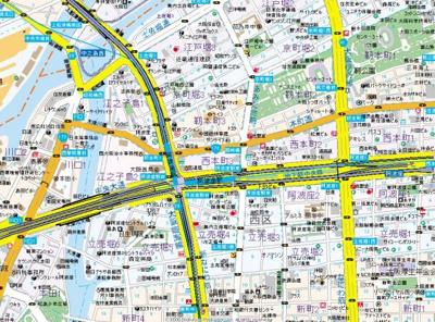 【地図】セレニテ本町ルフレ