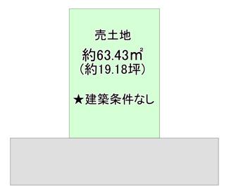 【土地図】都島区中野町5丁目 売土地