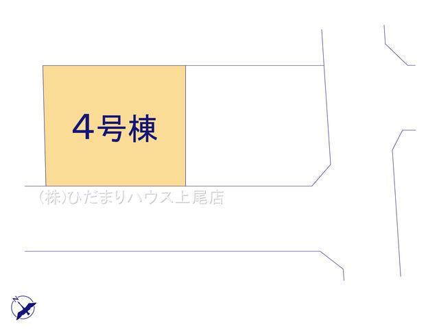 【区画図】鴻巣市箕田 第5 新築一戸建て クレイドルガーデン 04