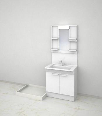 【独立洗面台】エメラルドマンション牧山 B棟