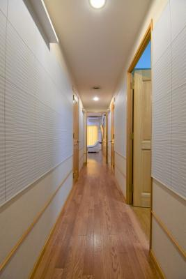 明るい廊下!