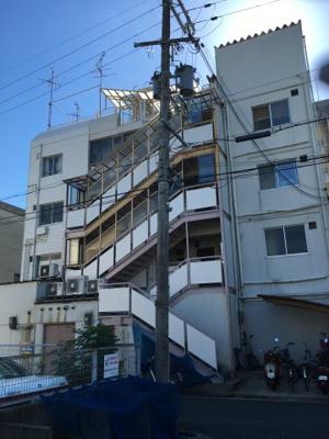 【外観】GS岡町(事務所)