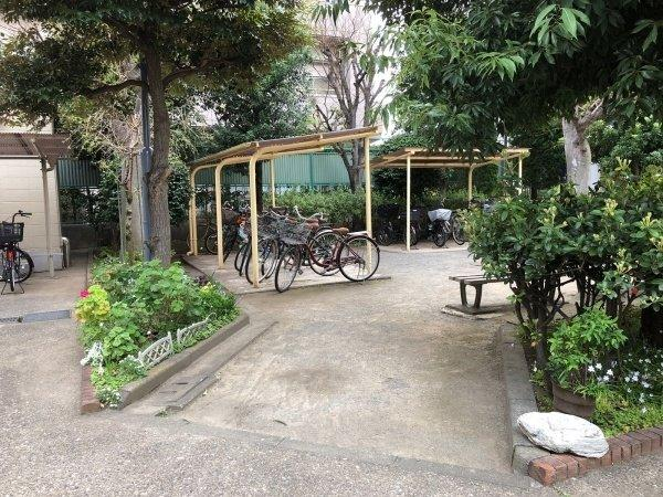 【駐輪場】志村サンハイツ