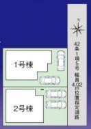【区画図】大宮区上小町新築戸建