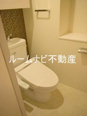 【トイレ】パレステージ西ケ原