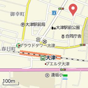 【地図】ワイズメゾンオーツー