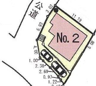 【区画図】新築 小田急線 横浜線 町田駅 町田市 図師町