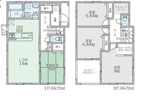 リーブルガーデン宗像市須恵第三(1号棟)