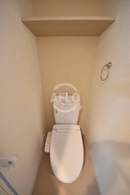 プレサンス天神橋スカイル トイレ