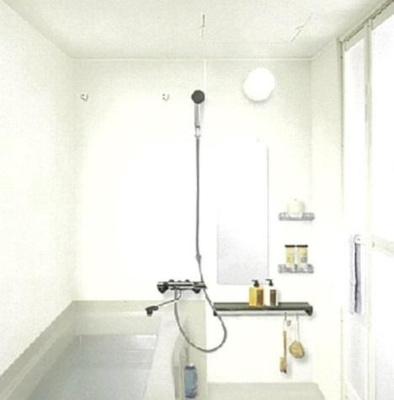 プレサンス梅田北オール 浴室乾燥機つきバスルーム
