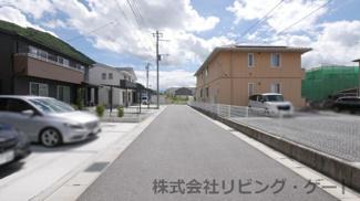 綺麗なご住宅が建ち並ぶ閑静な住宅街の一角