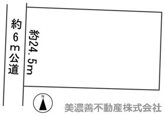 【区画図】57176 岐阜市須賀土地