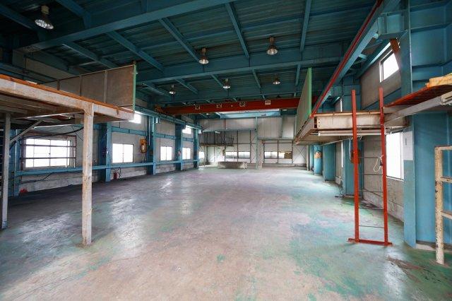 一階倉庫・工場スペース(2020年7月撮影):三郷新築ナビで検索♪