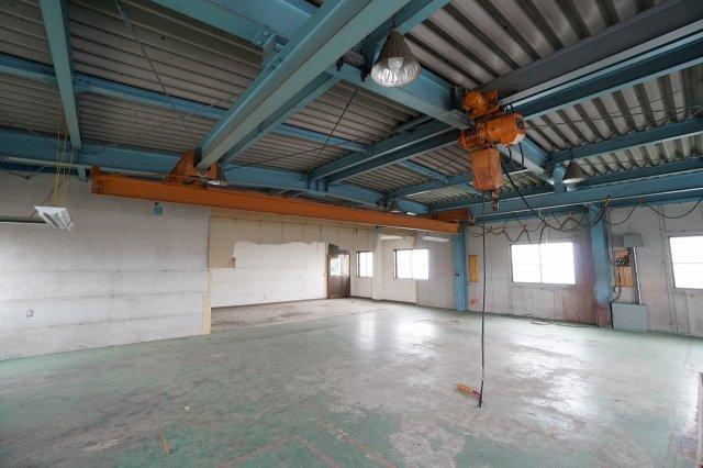 二階作業・工場スペース(2020年7月撮影):三郷新築ナビで検索♪