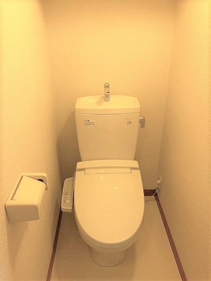 【トイレ】レオパレス欅