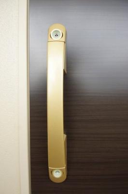 玄関扉は「Wロック」です。
