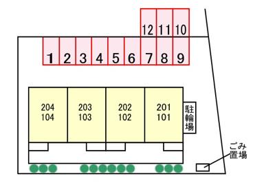 【区画図】ハルジオン城山台