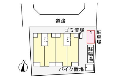 【区画図】ハピネス
