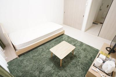 【居間・リビング】セブンスパークアパートメント
