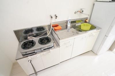 【キッチン】セブンスパークアパートメント