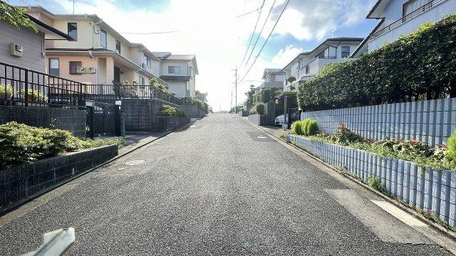 【前面道路含む現地写真】宗像市天平台 戸建て