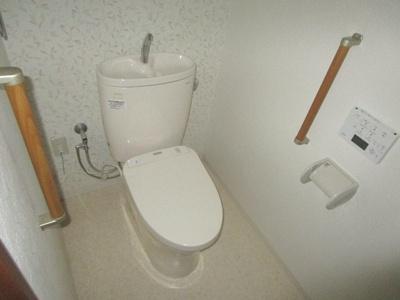 【トイレ】マンションラップ