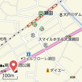 【地図】ヒラソル 瀬田