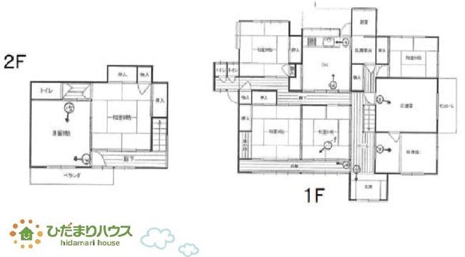 8DKでたくさんお部屋があります!ご家族が多くても安心ですね(^^)/
