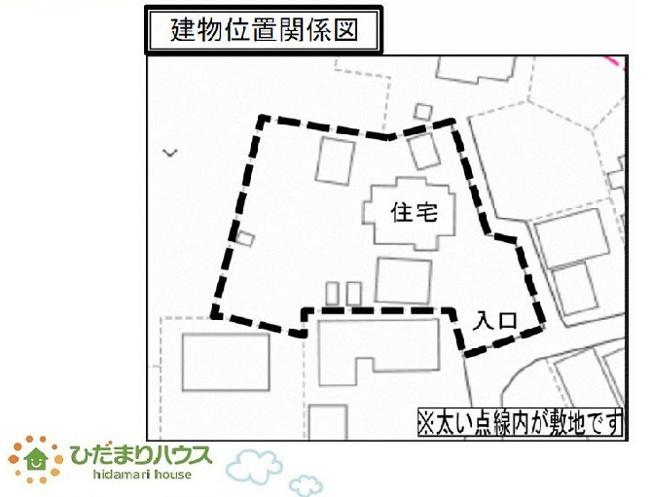 【区画図】つくば市長高野 中古戸建