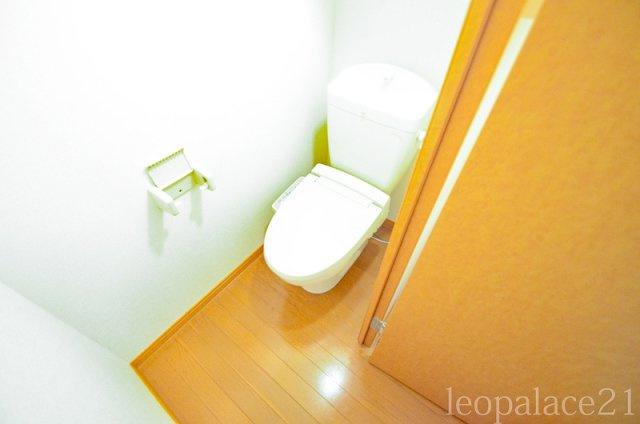 【トイレ】レオパレスルースト