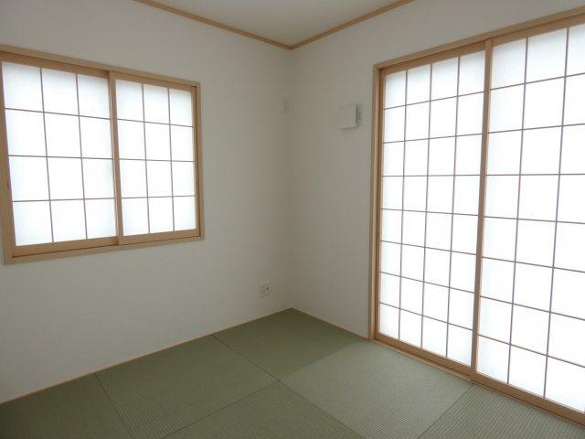 【2号棟】和室 リビングとつながる癒しの空間、和室☆彡