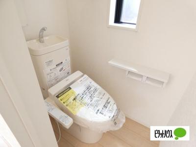 【1号棟】トイレ 温水洗浄・暖房便座機能付きです☆彡