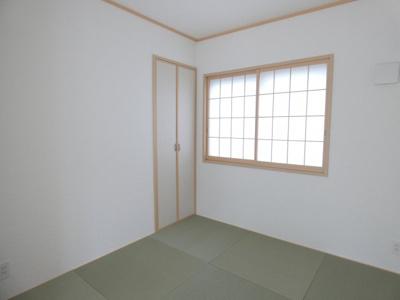【1号棟】和室 リビングとつながる癒しの空間、和室☆彡