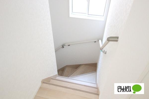 【35号棟】階段 手すりがついてお子様やご年配の方にも安心☆彡