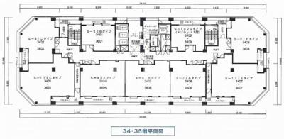 S-50Bタイプは両隣に住戸がない独立部屋です オーナーチェンジ物件 月額賃料:200,000円  想定年収:2,400,000円  表面利回り:4.80%