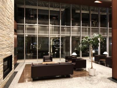 ホテルライクなロビー オーナーチェンジ物件 月額賃料:200,000円  想定年収:2,400,000円  表面利回り:4.80%