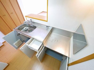 【キッチン】七条ヘリテージB