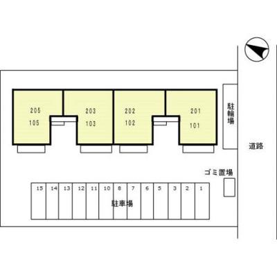 【区画図】セジュール小林