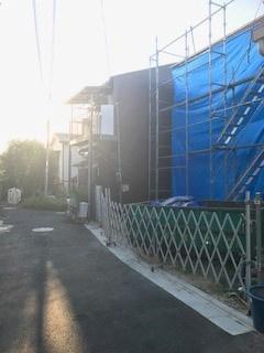 【前面道路含む現地写真】新築戸建 四條畷市南野4丁目