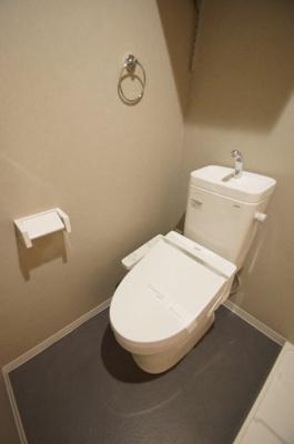 「温水洗浄便座付きトイレ」