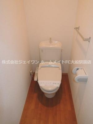 【トイレ】ウエスト・ベルグ鎌倉A