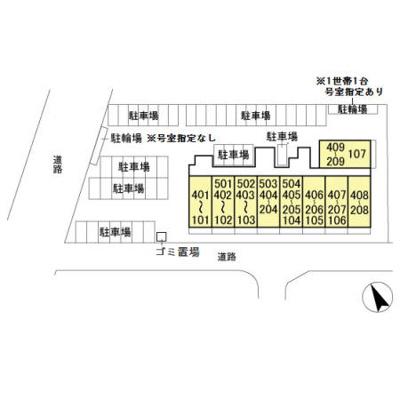【区画図】ラ・プレミール