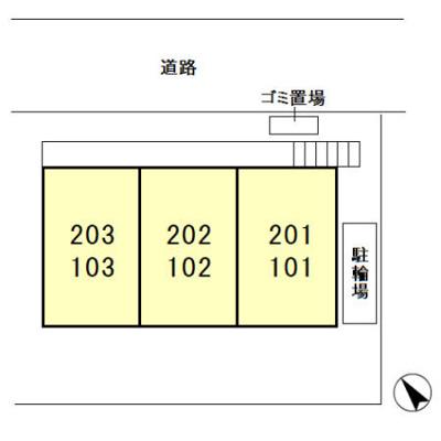 【区画図】エクセル・ド・柏