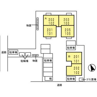【区画図】ブランズ魚津A