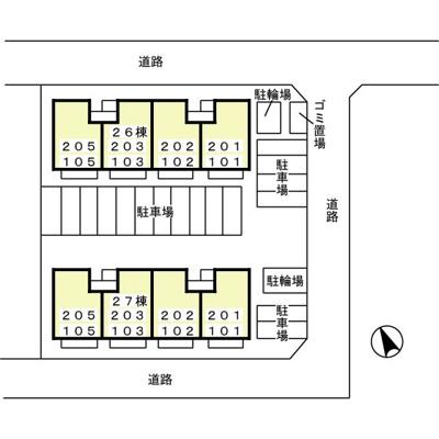 【区画図】パールハイツ米村