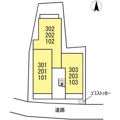 【区画図】アンリジエール
