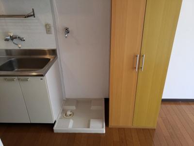 室内洗濯機置場☆神戸市垂水区 サニーパレス五色山 賃貸☆